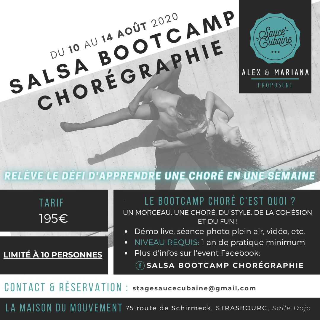 Salsa BootCamp Chorégraphie