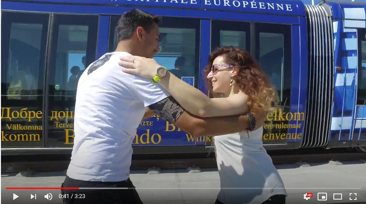 Vidéo : Salsa avec Harley & Alex